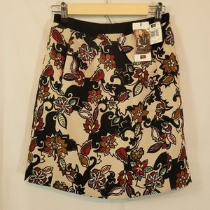 Cue Print Skirt